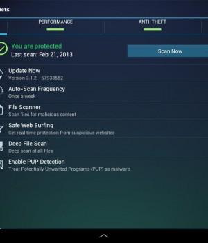 Free Tablet Antivirus Security Ekran Görüntüleri - 2