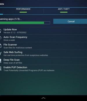 Free Tablet Antivirus Security Ekran Görüntüleri - 1