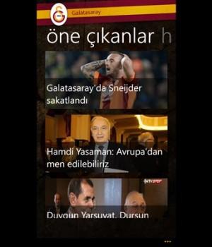 Galatasaray Ekran Görüntüleri - 5