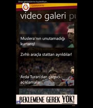 Galatasaray Ekran Görüntüleri - 2