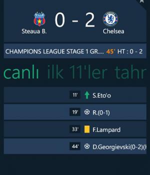 GoalLive Ekran Görüntüleri - 1