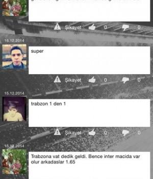 GollerCepte Canlı Skor Ekran Görüntüleri - 1