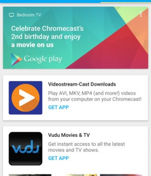Google Cast Ekran Görüntüleri - 3