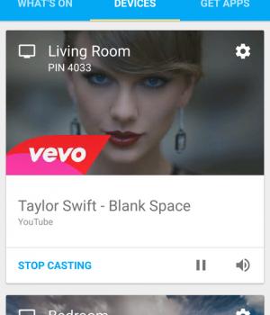 Google Cast Ekran Görüntüleri - 1
