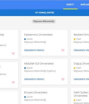 Google Üniversite Seçimim Ekran Görüntüleri - 3