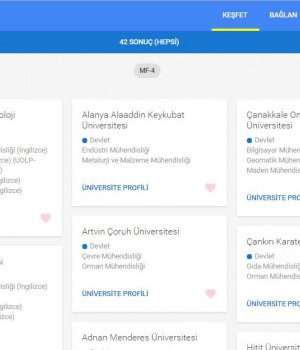 Google Üniversite Seçimim Ekran Görüntüleri - 2