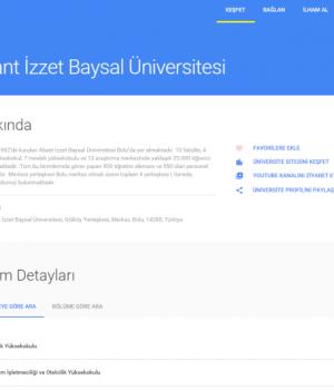 Google Üniversite Seçimim Ekran Görüntüleri - 1