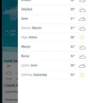 Hava Durumu Meteoroloji Ekran Görüntüleri - 3