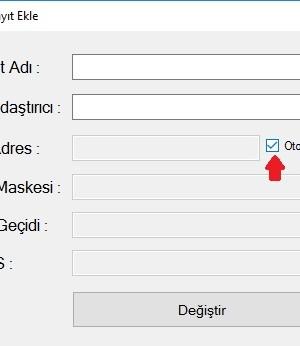 Hızlı IP Değiştirme Ekran Görüntüleri - 1