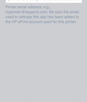 HP ePrint Ekran Görüntüleri - 1