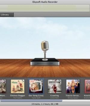iSkysoft Audio Recorder for Mac Ekran Görüntüleri - 2