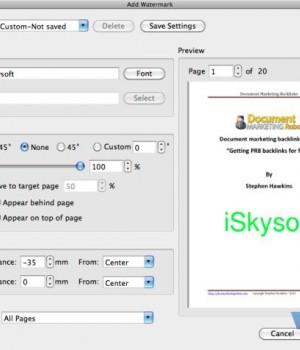 iSkysoft PDF Editor for Mac Ekran Görüntüleri - 1
