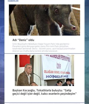 İzmir Büyükşehir Belediyesi Ekran Görüntüleri - 2