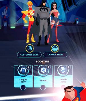 Justice League Action Run Ekran Görüntüleri - 1