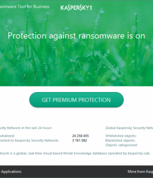 Kaspersky Anti-Ransomware Tool Ekran Görüntüleri - 1