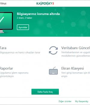 Kaspersky Anti-Virus Ekran Görüntüleri - 1
