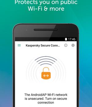 Kaspersky Secure Connection Ekran Görüntüleri - 1