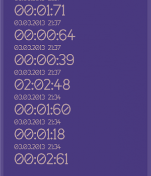Kronometre Ekran Görüntüleri - 3