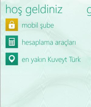 Kuveyt Türk Mobil Şube Ekran Görüntüleri - 3