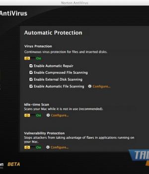 Mac için Norton AntiVirus Ekran Görüntüleri - 1