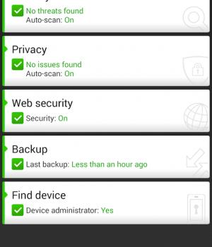 McAfee Mobile Security Ekran Görüntüleri - 3