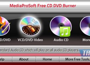 MediaProSoft Free CD DVD Burner Ekran Görüntüleri - 3