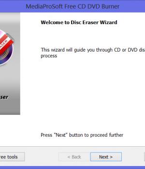 MediaProSoft Free CD DVD Burner Ekran Görüntüleri - 1