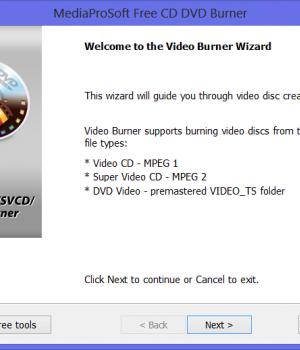 MediaProSoft Free CD DVD Burner Ekran Görüntüleri - 4