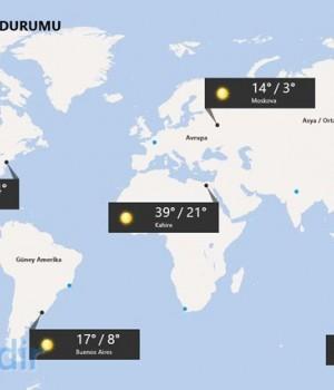 MSN Weather Ekran Görüntüleri - 1