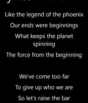 musiXmatch lyrics player Ekran Görüntüleri - 1