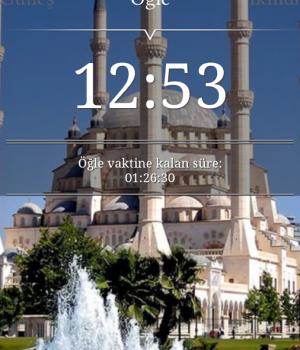 Namaz Vakti Ekran Görüntüleri - 1