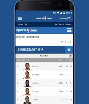 NBA Türkiye Ekran Görüntüleri - 1