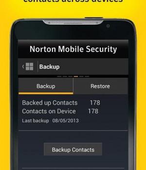 Norton Mobile Security Ekran Görüntüleri - 1