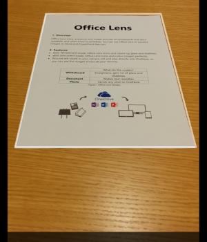 Office Lens Ekran Görüntüleri - 1
