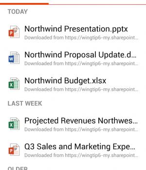 Microsoft Office Mobile Ekran Görüntüleri - 1