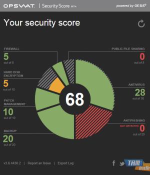 OPSWAT Security Score Ekran Görüntüleri - 3