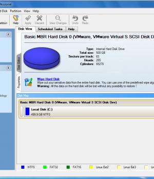 Paragon Disk Wiper Ekran Görüntüleri - 1