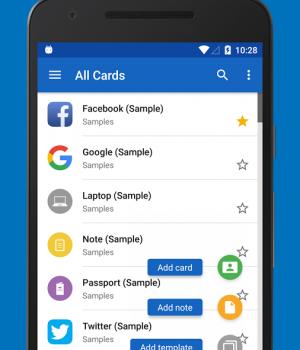 SafeInCloud Ekran Görüntüleri - 2