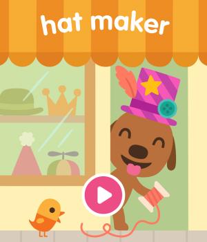 Sago Mini Hat Maker Ekran Görüntüleri - 1