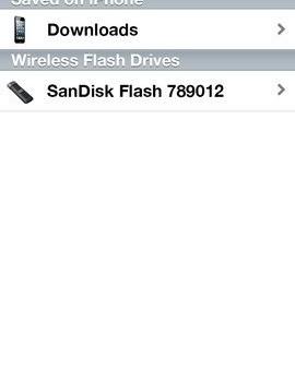 SanDisk Connect Wireless Flash Drive Ekran Görüntüleri - 3