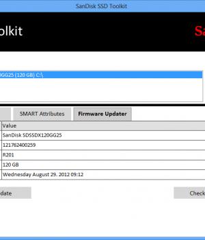 SanDisk SSD Toolkit Ekran Görüntüleri - 2