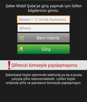 Şekerbank Ekran Görüntüleri - 2