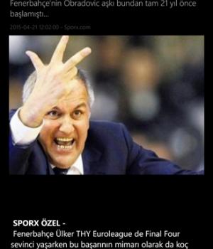 Sporx Ekran Görüntüleri - 1