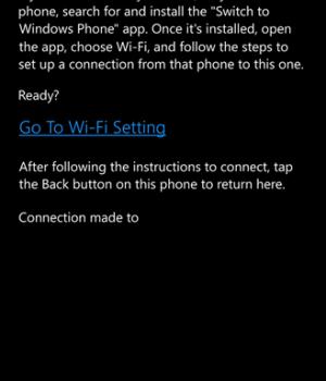 Switch to Windows Phone Ekran Görüntüleri - 4