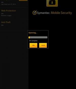 Symantec Mobile Security Agent Ekran Görüntüleri - 3