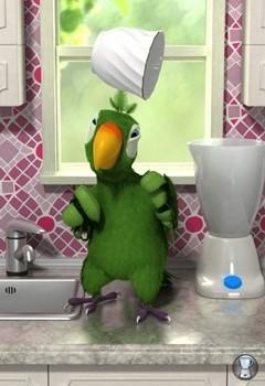 Talking Pierre the Parrot Ekran Görüntüleri - 2