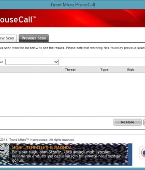 Trend Micro HouseCall Ekran Görüntüleri - 4