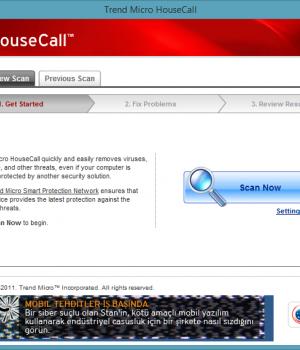 Trend Micro HouseCall Ekran Görüntüleri - 1