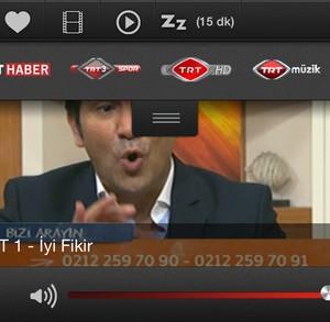 TRT Televizyon Ekran Görüntüleri - 2