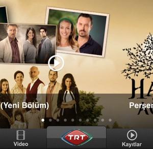 TRT Televizyon Ekran Görüntüleri - 4